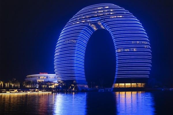 Doughnut-Shaped Hotel Opens in China — Vagabondish