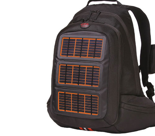 Solar Powered Travel Backpack