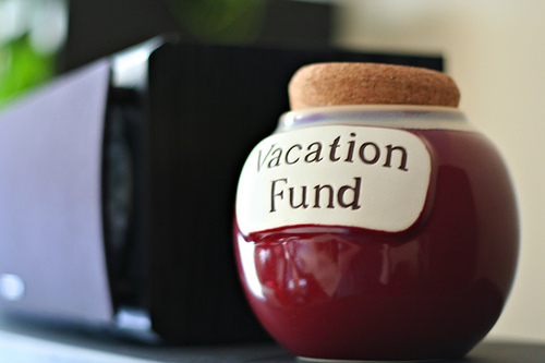 Travel and Vacation Fund Jar