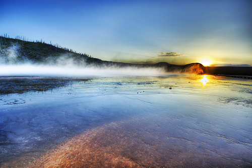 Geothermal at Yellowstone National Park