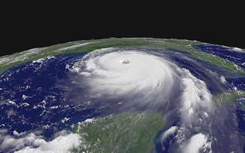 Hurricane Katrina - Satellite Image