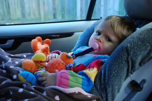Car Sick Kid-O