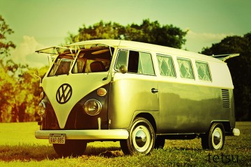retro travel vw camper