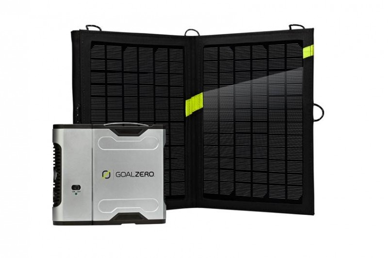 Goal Zero Sherpa 50 Recharger with Nomad 13 Solar Panels