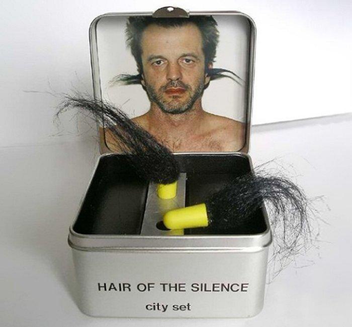 Hair of the Silence Ear Plugs