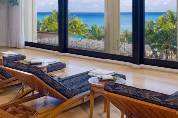 Spa Relaxation Room at Hyatt Regency, Waikiki Beach, Oahu