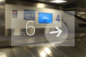 JetBlue Google Glass