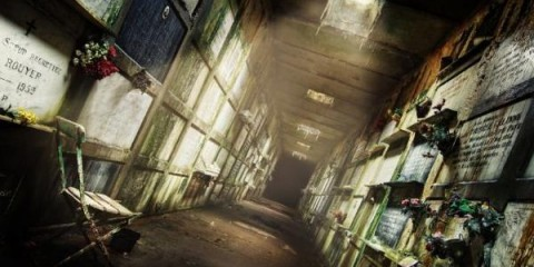 Abandoned Crypt, Belgium (photographer: Sven Fennema)