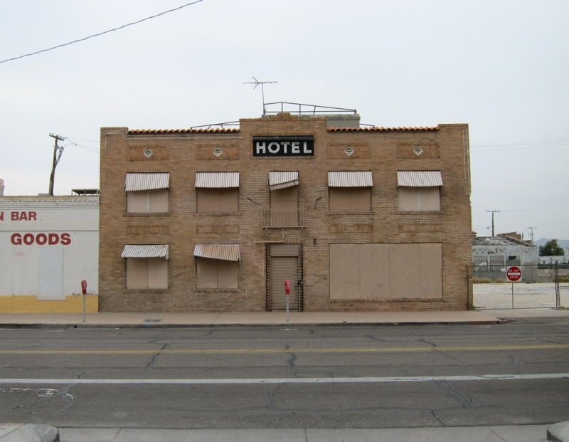 Abandoned hotel in Phoenix