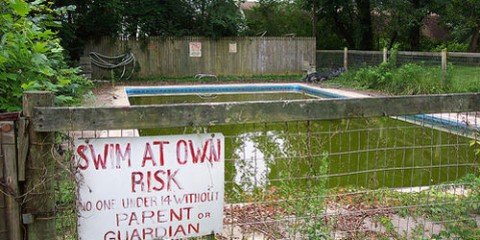 Abandoned Pool, North Carolina