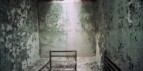 Cell in an Abandoned Prison in Ohio, Pennsylvania
