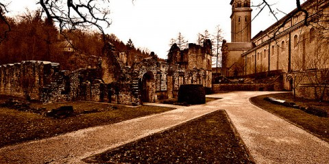 Abbaye d'Orval, Luxembourg