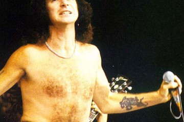 Bon Scott from Rock Band ACDC
