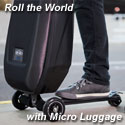 Micro Luggage | Scooter Luggage | Ride On Luggage | Suitcase Scooter