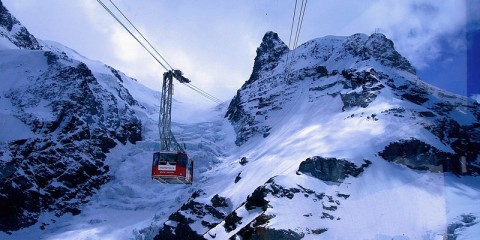 Klein Matterhorn Cable Car, Switzerland