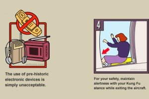 Airtoons: Fun with Airline Safety Card Illustrations