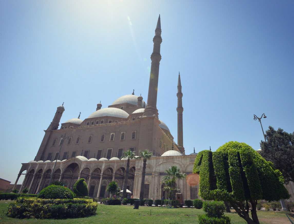 The Alabaster Mosque (Mosque of Muhammad Ali) in Cairo, Egypt