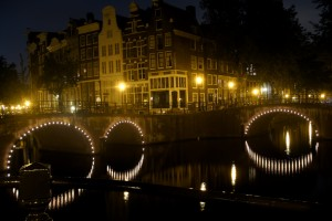 Night in Amsterdam