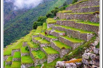 Andenes del Machu Pichu, Peru