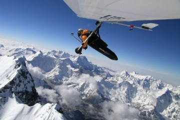 Angelo d'Arrigo - Hang Gliding Over Mount Everest