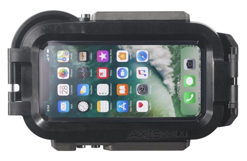 AxisGO X Waterproof Housing for iPhone X (Rear)