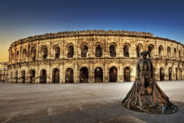 Arènes de Nîmes, France
