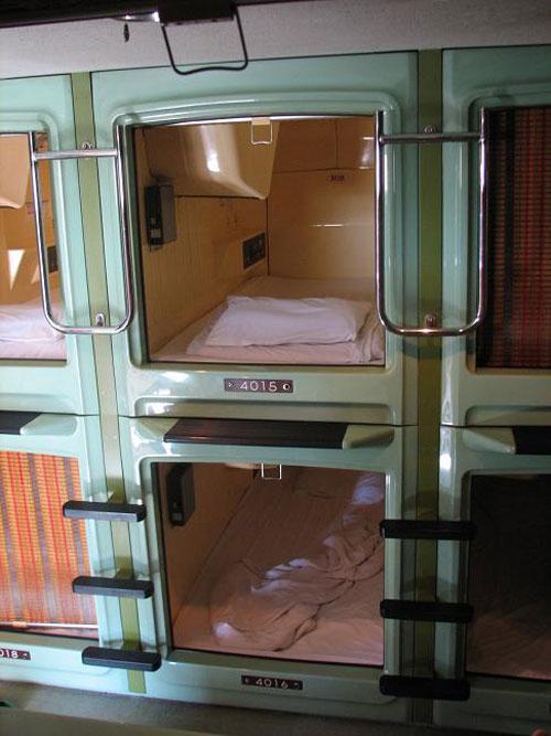 Asakusa Capsule Hotel, Tokyo