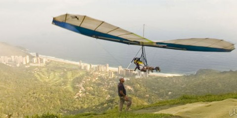 AtView.org - Hangliding in Rio de Janeiro (Screenshot)