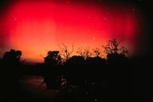Aurora Australia (Southern Lights) Over Kangaroo Island, South Australia