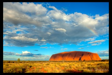 Ayers Rock in Urulu, Australia