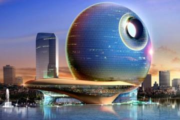 Azerbaijan's Death Star Hotel