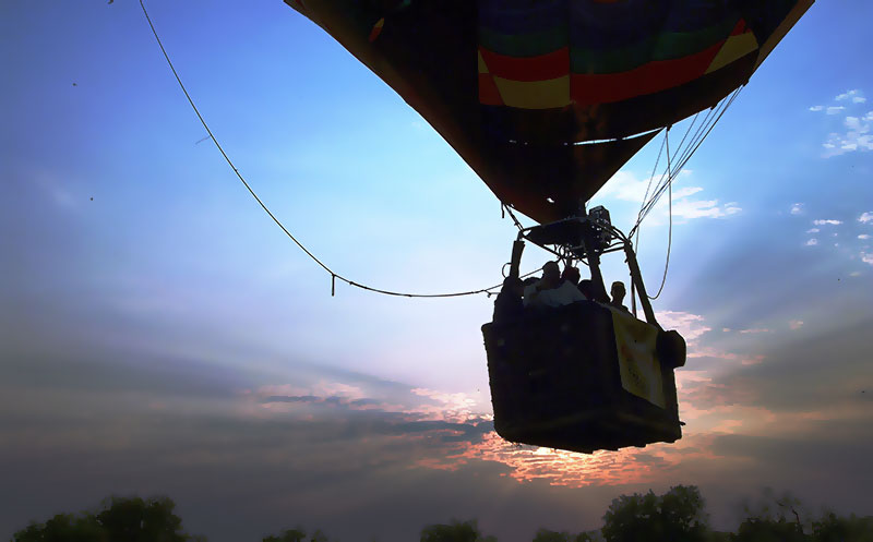 Hot Air Balloon Safari at Kloofzicht Game Reserve