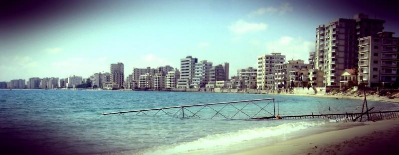 Beach, Varosha, Famagusta, Cyprus