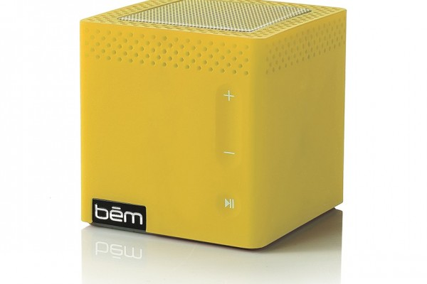 bēm wireless: mobile speaker (yellow)