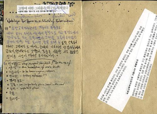 Ben Hancock's Journal