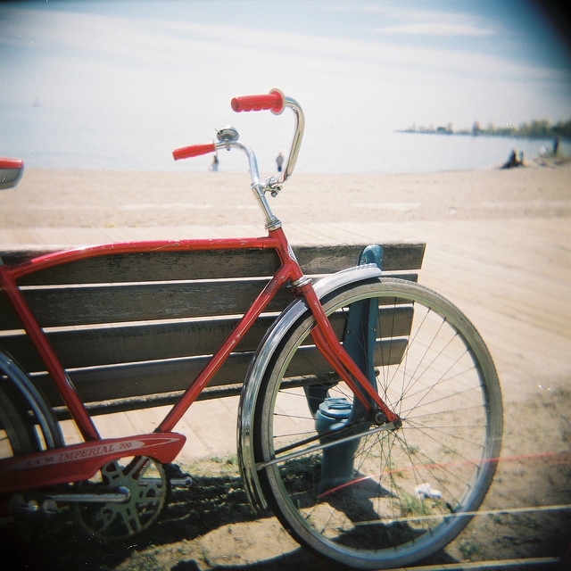 Bike Rides Along the Boardwalk, Toronto, Canada