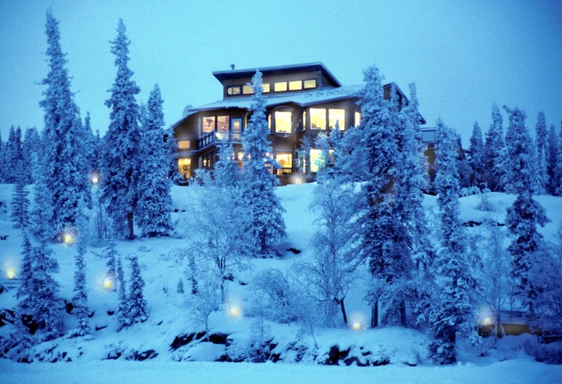 Blachford Lake Lodge in Northwest Territories, Canada