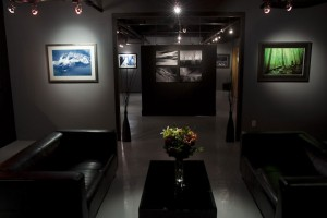 Interior of Blake Jorgenson Gallery, Whistler, British Columbia