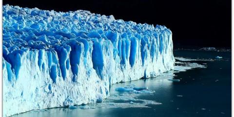 Massive glacier in Argentina