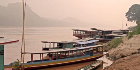 Boats Ashore, Luang Prabang