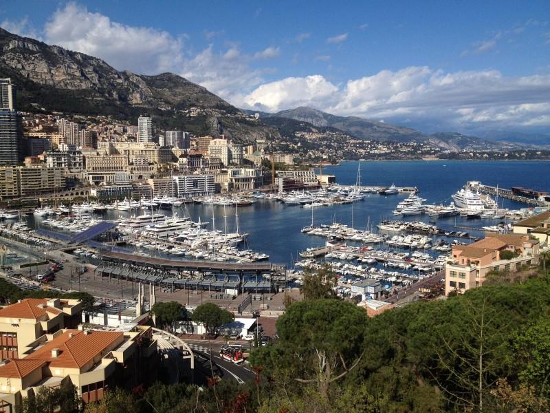 Boats in Monaco Harbor