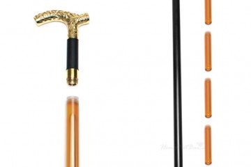 Travel Gadget: Booze Smuggling Walking Cane