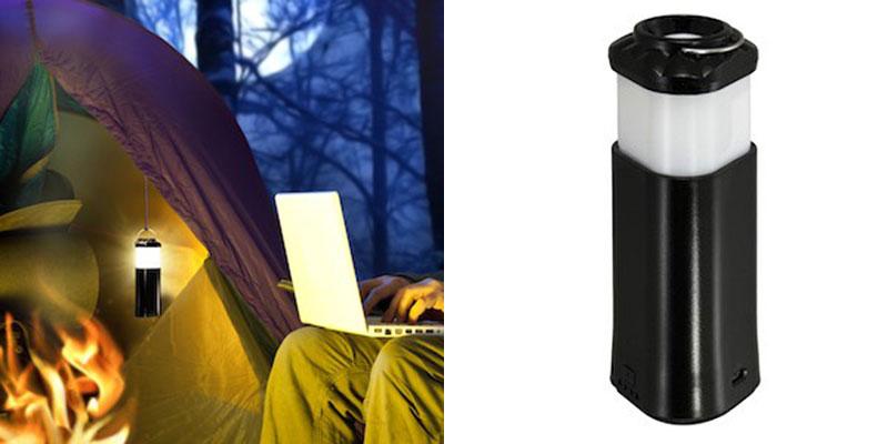 SmartLantern: A Go-anywhere Flashlight/Lantern/Backup Battery Pack — Vagabondish
