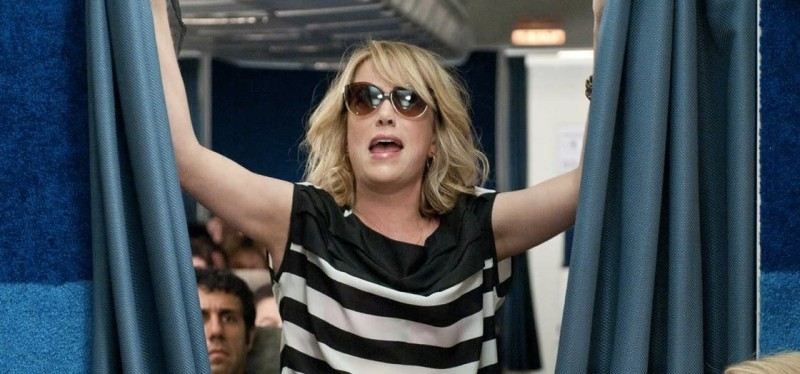 'Bridesmaids' First Class (movie screenshot)