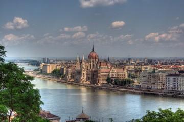 Skyline of Budapest, Hungary