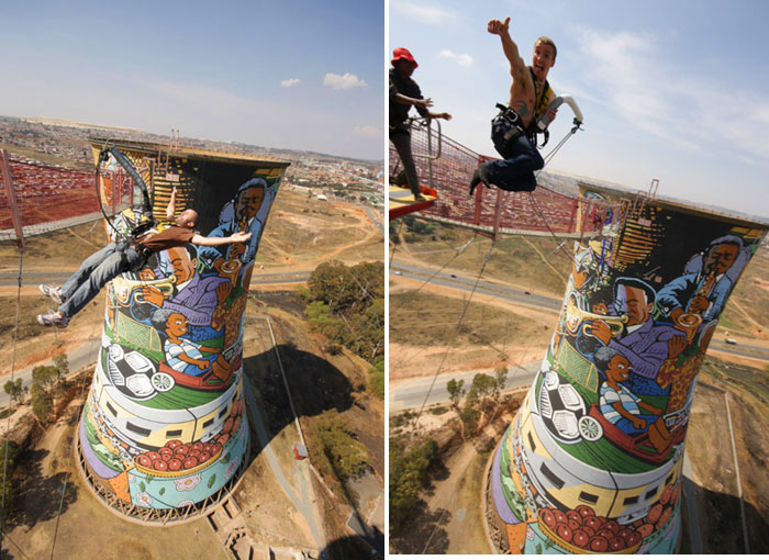 Bungee Jump Orlando Cooling Towers, South Africa