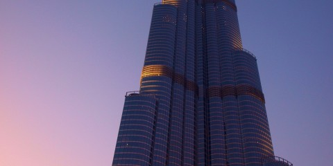 Burj Khalifah at Dawn, Dubai
