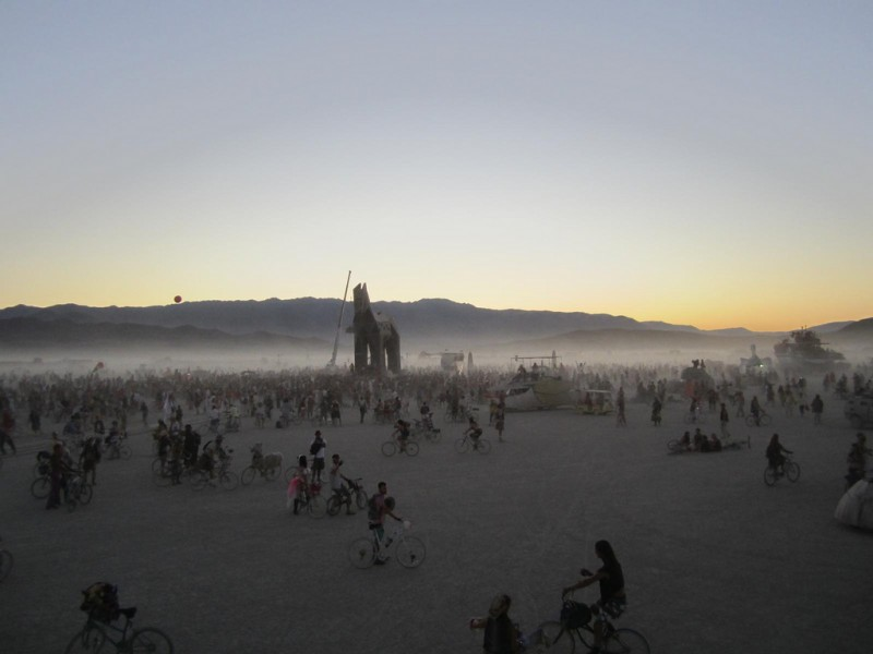Burning Man Festival, 2011