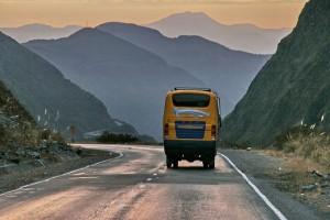 Bus, Bolivia, South America