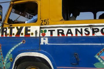 Bus to Dakar, Senegal